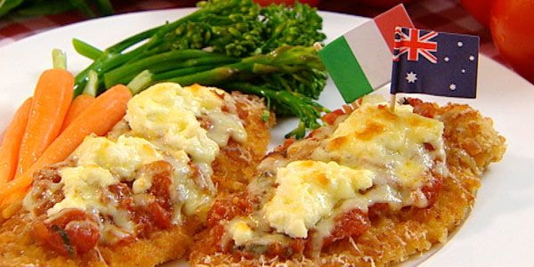 Chicken parmagiana - Julie's recipes