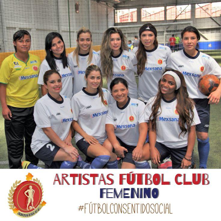 Fabián Vargas Indoor Artistas Fútbol Club #Femenino #FútbolConSentidoSocial