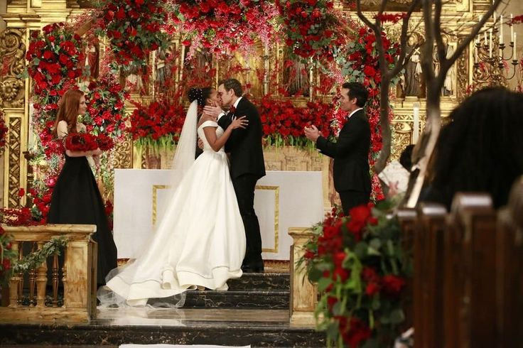 Scandal Olivia and Fitz's Wedding Pictures | POPSUGAR Celebrity