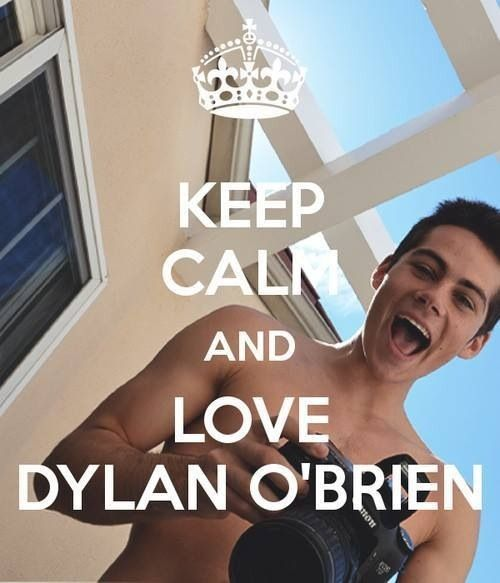 Dylan O'Brien, now that Jenessa and I have discovered he's of age for me to think he's cute, or adorbs as JJ says :-P