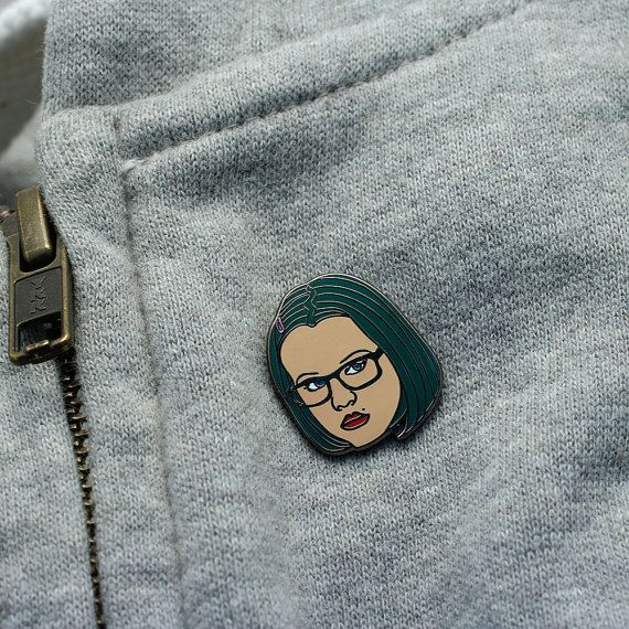 Enid Coleslaw Enamel Pin // Ghost World cult lapel by Punkypins