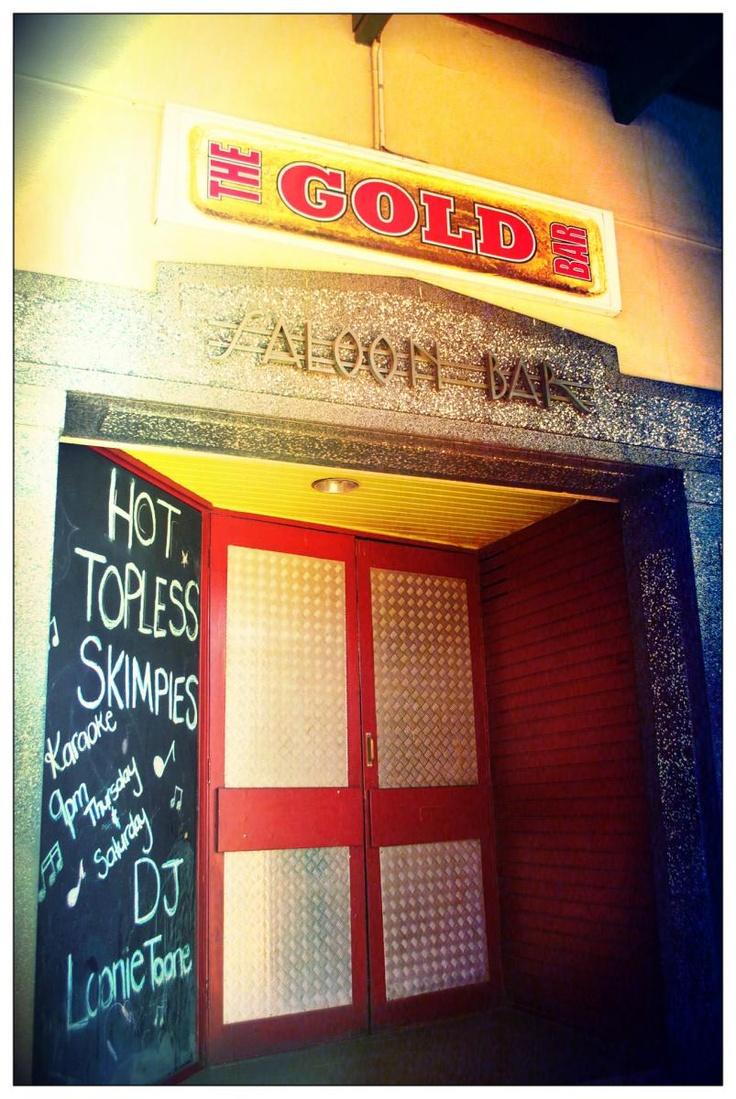 The Gold Bar @ the Palace Hotel. Kalgoorlie Boulder