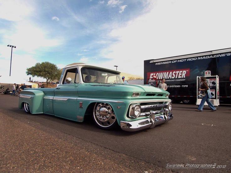 bad custom chevy dually   Classic Trucks   Pinterest   Chevy