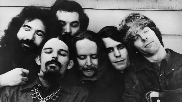 The Grateful Dead circa 1970. The band's members were quintessential rock hippies — but,