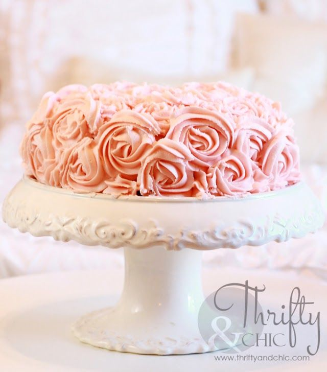 Best Icing For Rosettes On Side Of Cake