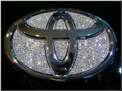 Toyota bling!