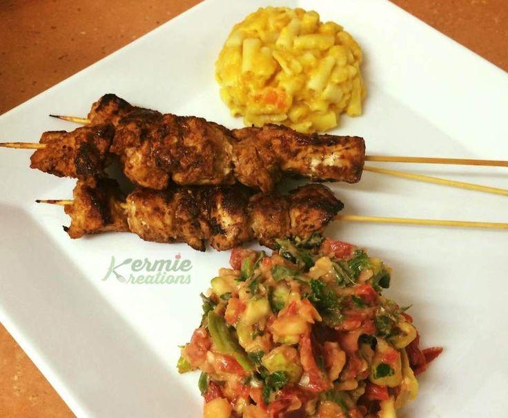 Recipe Sticky Chicken Skewers - Kermie Kreations by Kermie Kreations - Recipe of category Main dishes - meat