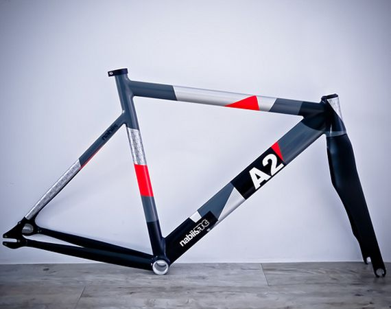 """""""nabiis x FTC""""   A2 Fixed Gear Bicycle Frame"""