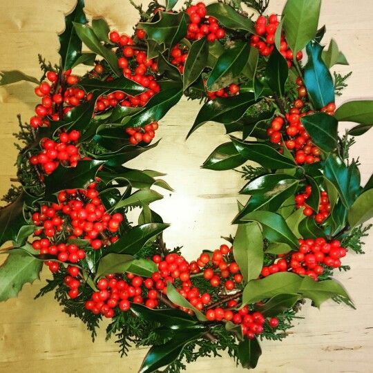 Kristtorn wreath