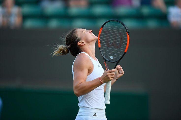 "Simona Halep R2  3,080 Me gusta, 8 comentarios - Wimbledon (@wimbledon) en Instagram: ""That winning feeling. . : @besolomon #Wimbledon #tennis #instasport #grandslam #halep"""