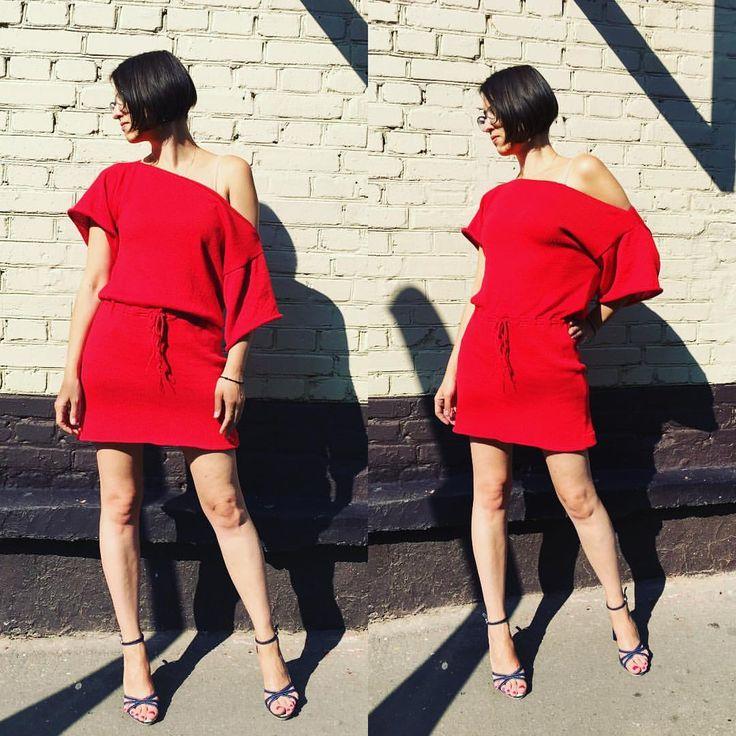 А вот и само платье 😍😍😍 я полностью довольна работой! 100% итальянский хлопок  Размер 42-44 Повторю в любом цвете  Пишите в Viber, Whatsapp, Директ! #машинноевязание #вязаныевещи #вязаниеназаказ #кэтивяжет #платье #платьеназаказ  За фото спасибо @al.loss