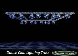 Lightweight Aluminum Lighting Truss http://versatrussplus.com #lightingtruss #aluminumlightingtruss #lightweightlightingtruss #customlightingtruss