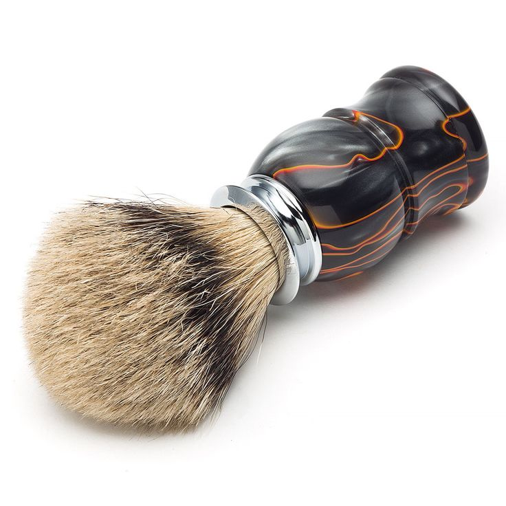 Artisan Super Silvertip Badger Shaving Brush Kit from Craft Supplies USA --- Our Super Silvertip Badger Shaving Brush is made of the most expensive and rare type of badger hair. The tips are naturally white, not bleached. #woodturning #shavingkit #razorkit #project #woodturnerscatalog
