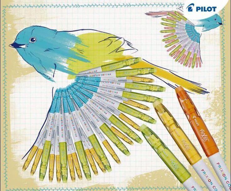 Fixy sú kráľovné kreativity v každej domácnosti s malými deťmi. Dokážete si predstaviť , na akých majstrov sa vaše ratolesti premenia, ak budú môcť svoje výtvory nakresliť a znova zmazať? Vyskúšajte nové prepisovateľné fixy Frixion Color v 12 rôznych farbách!