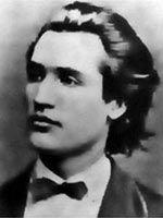 Mihai EMINESCU - poza (imagine) portret Mihai EMINESCU