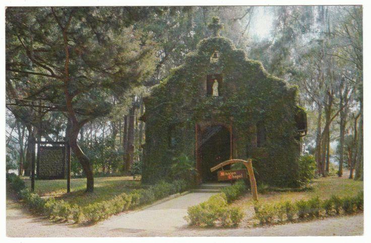 Postcards - United States # 1020 - The Mission of Nombre de Dios & Shrine of Our Lady of La Leche, St. Augustine, Florida