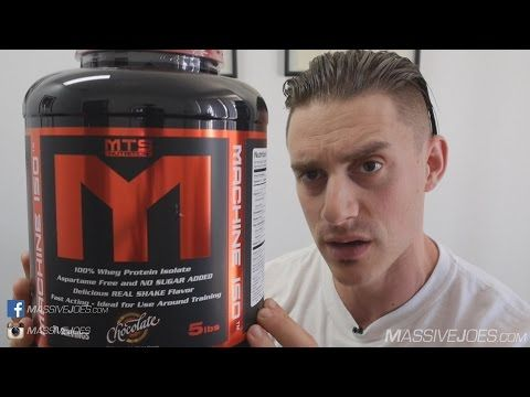 MTS Nutrition Machine ISO Isolate Protein Powder Supplement Review - MassiveJoes.com Raw Review - http://supplementvideoreviews.com/mts-nutrition-machine-iso-isolate-protein-powder-supplement-review-massivejoes-com-raw-review/