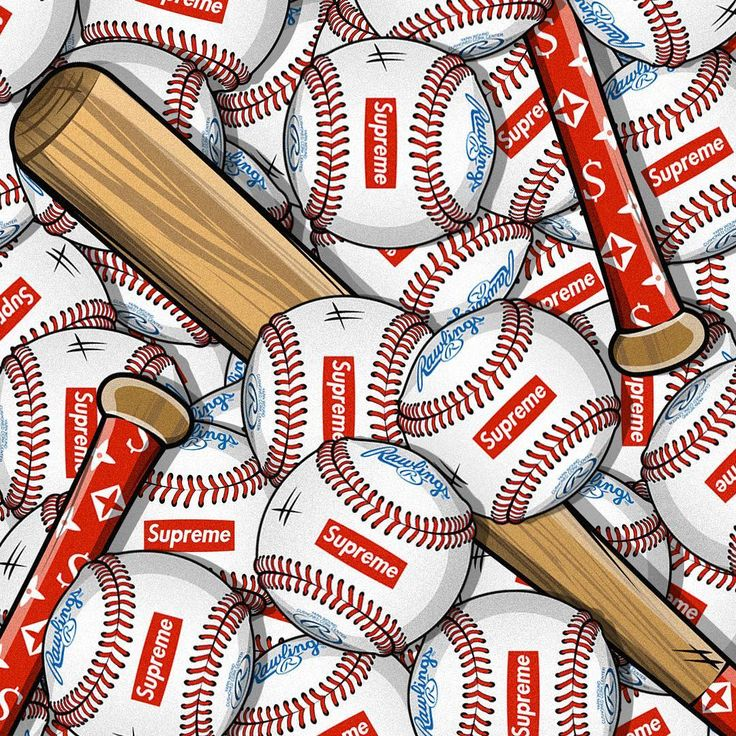 MLB is back! ⚾️ Supreme wallpaper, Hype wallpaper