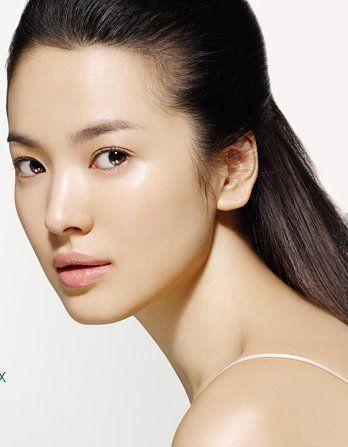 song hye kyo nude face