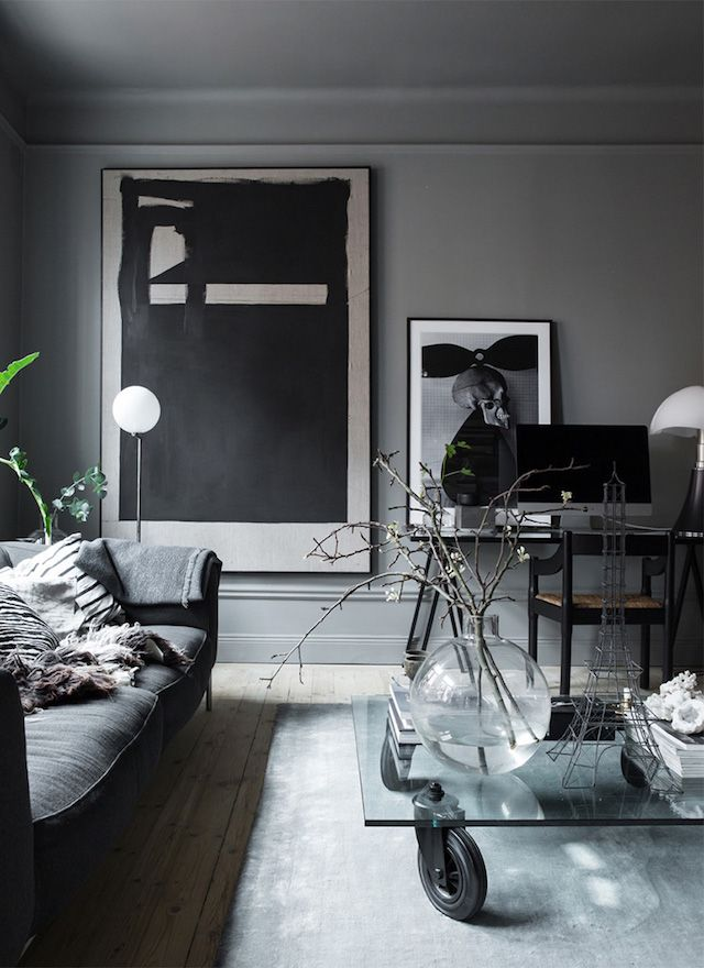 the atmospheric home of a swedish interior designer my scandinavian home - Interior Design My Home