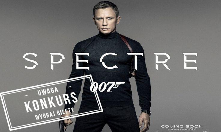 """KONKURS: Wygraj podwójne zaproszenie na film """"Spectre"""""""