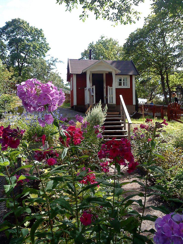 Up the garden path to allotment hut at Skansen   Flickr - Photo Sharing!
