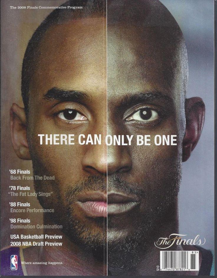 2007-2008 #NBA Finals Boston Celtics @ Los Angeles Lakers #Basketball Program Kobe from $17.0