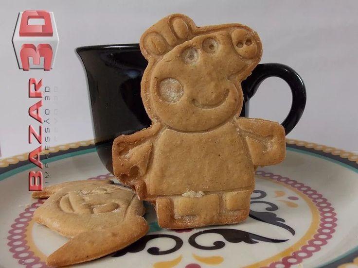 Cortador De Biscoito Peppa Pig Corpo Inteiro - Personagem - R$ 19,90 em Mercado Livre