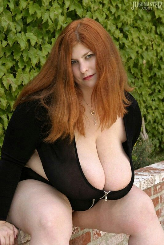curvy redhead big boobs