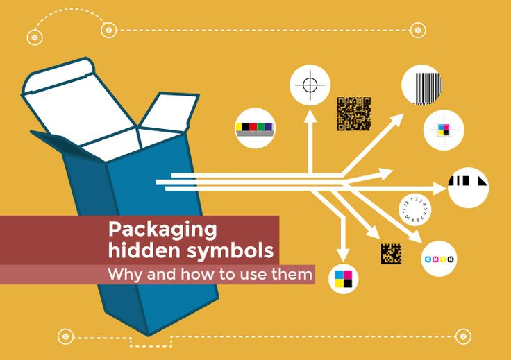 #Packaging hidden #symbols: a short article to reveal their meaning. Don't miss it! #Packly #howto