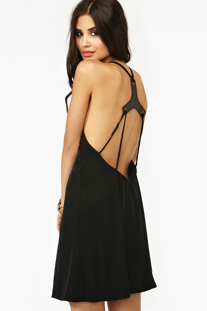 Harness Tank Dress - Nasty Gal