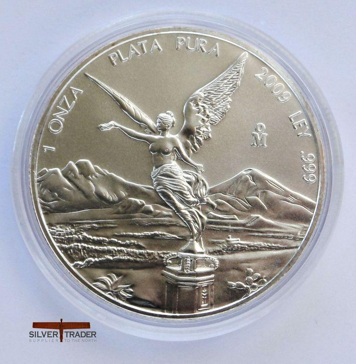 2009 Mexican Libertad 1 ounce Silver bullion Coin (1)