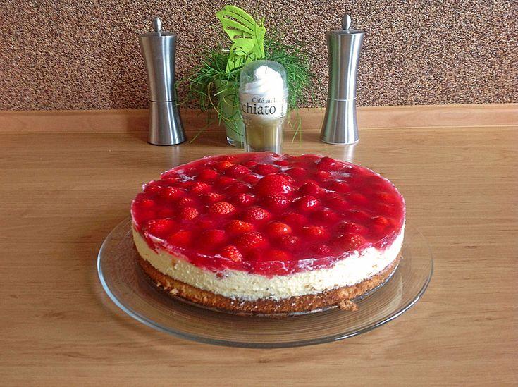 Erdbeerkuchen mit Schmand - Vanillecreme, ein leckeres Rezept aus der Kategorie Kuchen. Bewertungen: 153. Durchschnitt: Ø 4,7.