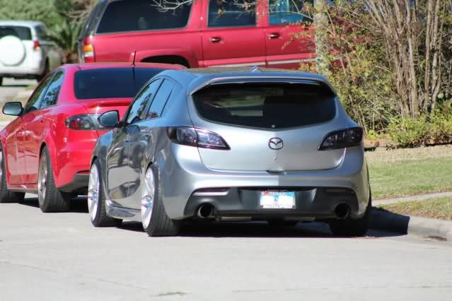 Mazdaspeed3 with FMIC