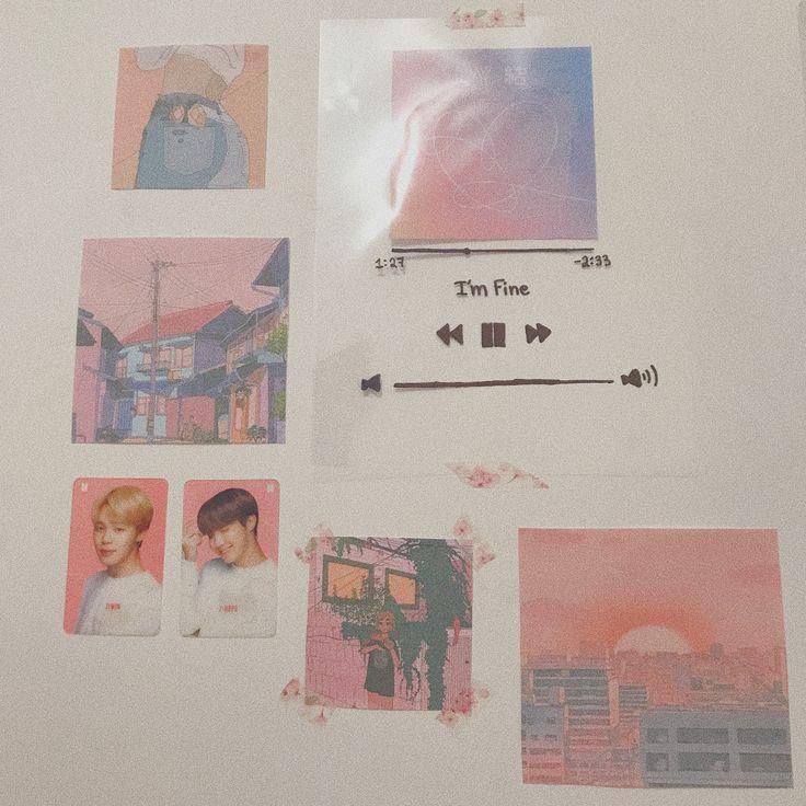 BTS Aesthetic Room Decor | Habitaciones chulas, Decoración ... on Room Decor Ideas De Cuartos Aesthetic id=73061
