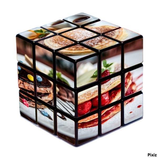 Pancake cube - a palacsinta kocka