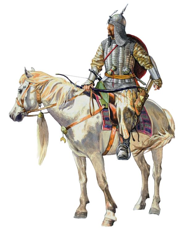 Tatar warrior, 17th century