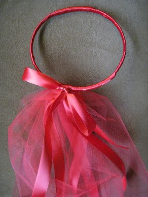 Take two cheap wired based headbands that have a knit like covering. They are often sold in packs of 4 at your local drug store. The wi...
