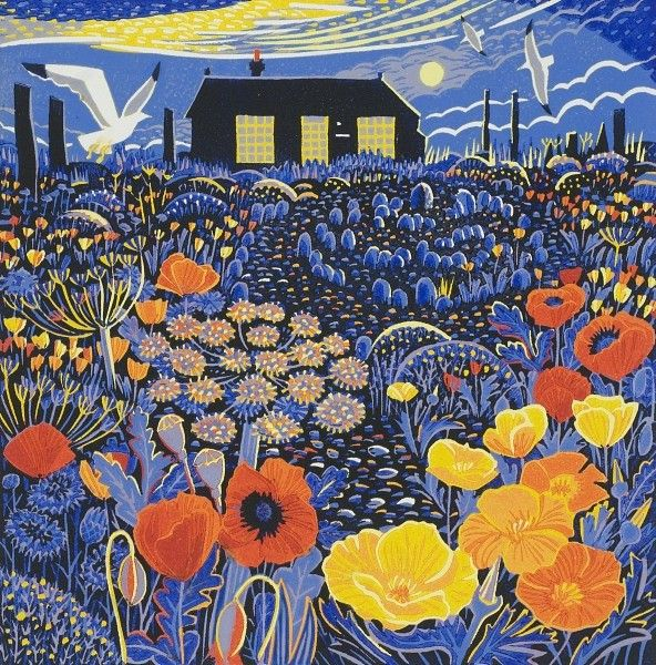 Poppies Prospect Cottage Annie Soudaine, Rye Society of Artists
