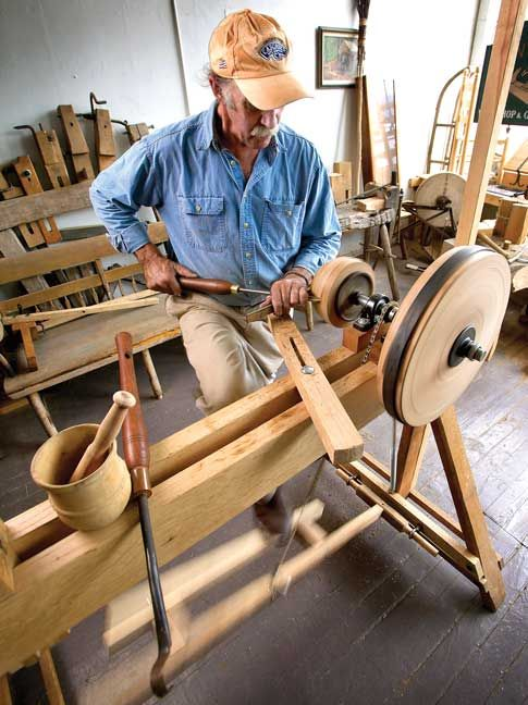 Answers to Bicycle Lathe Questions - Popular Woodworking Magazine