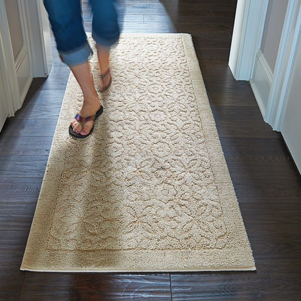 Washable Embossed Area Rugs