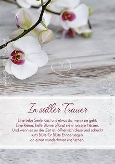 In stiller Trauer - Doppelkarte - Grafik Werkstatt Bielefeld
