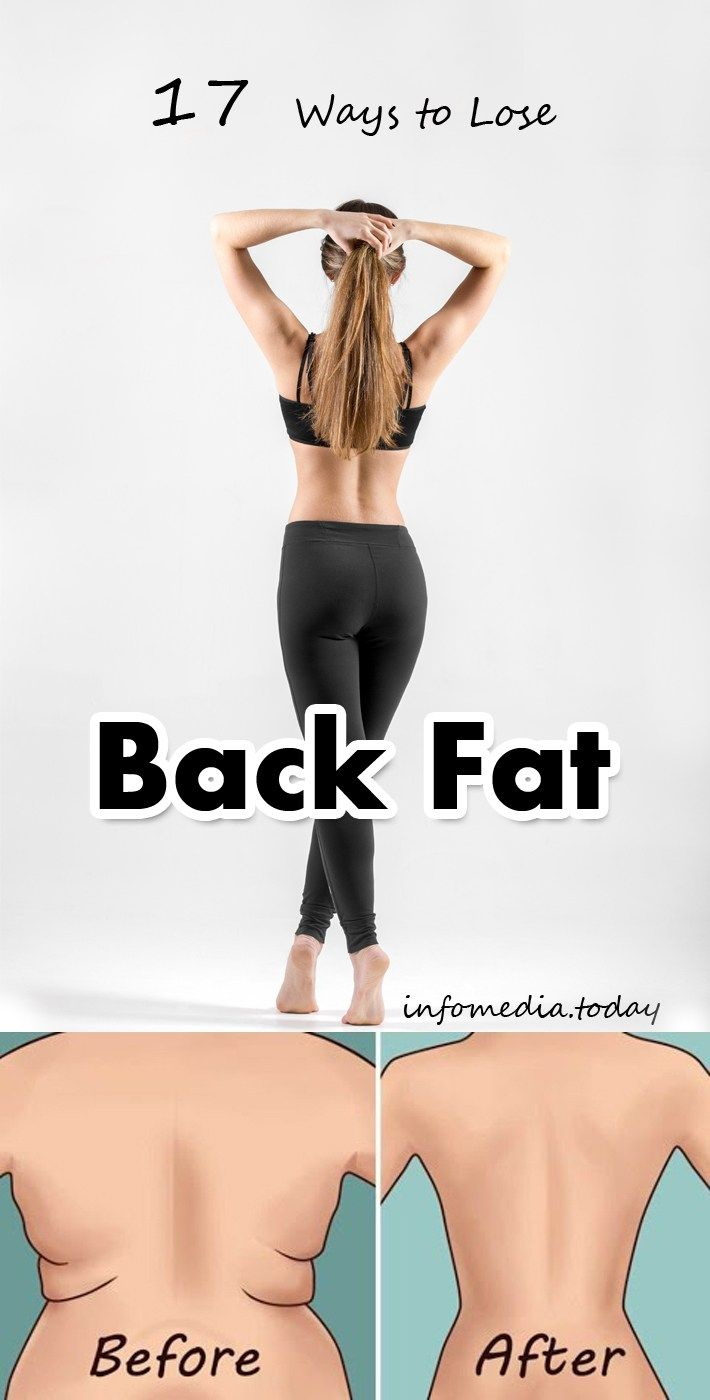 17 Ways to Lose Back Fat
