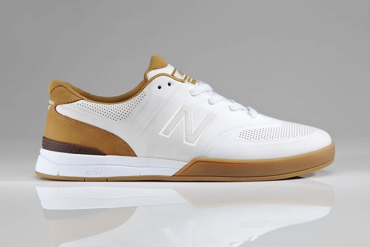 New Balance Numeric Logan 637. Pristine/Gum colorway. Part of its skateboarding line. Perhaps the coolest-looking New Balance sneaker and one I'd wear. This isn't your old man New Balance or douchebag hipster New Balance.