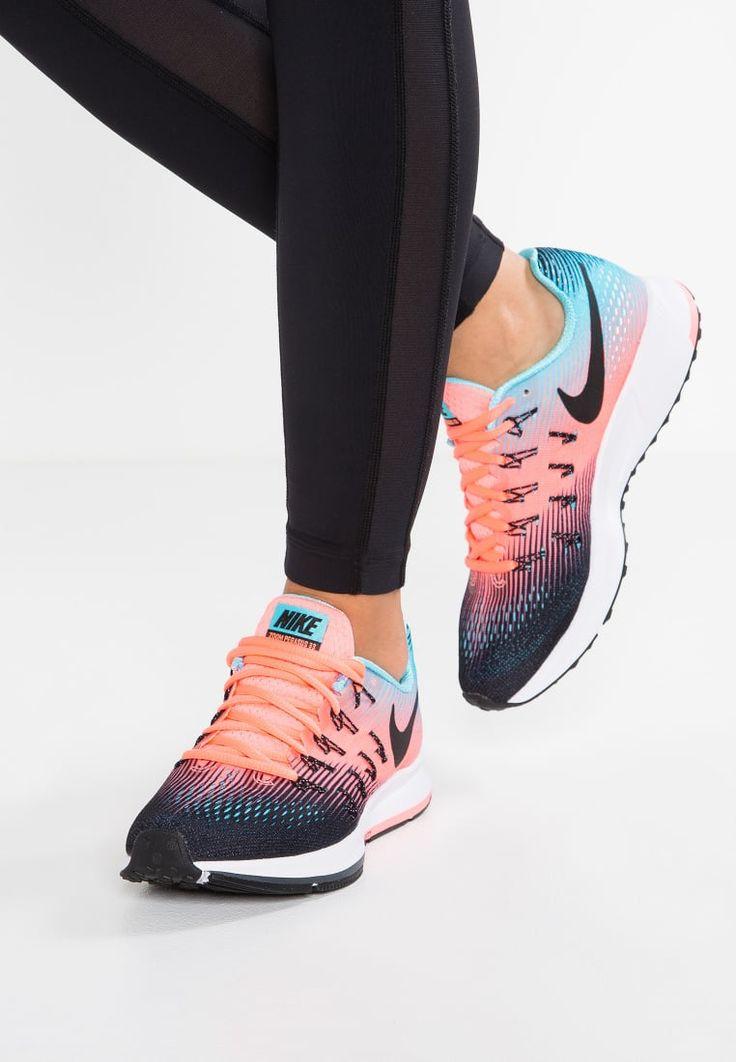 bestil Nike Performance AIR ZOOM PEGASUS 33 - Neutrale løbesko - black/white/lava glow/polarized blue/anthracite til kr 949,00 (31-01-17). Køb hos Zalando og få gratis levering.