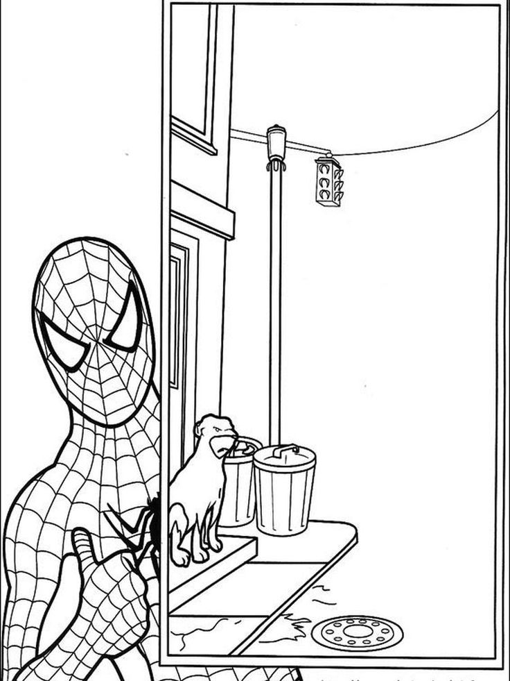 Amazing Spider Man Coloring Pages Online (With images ...