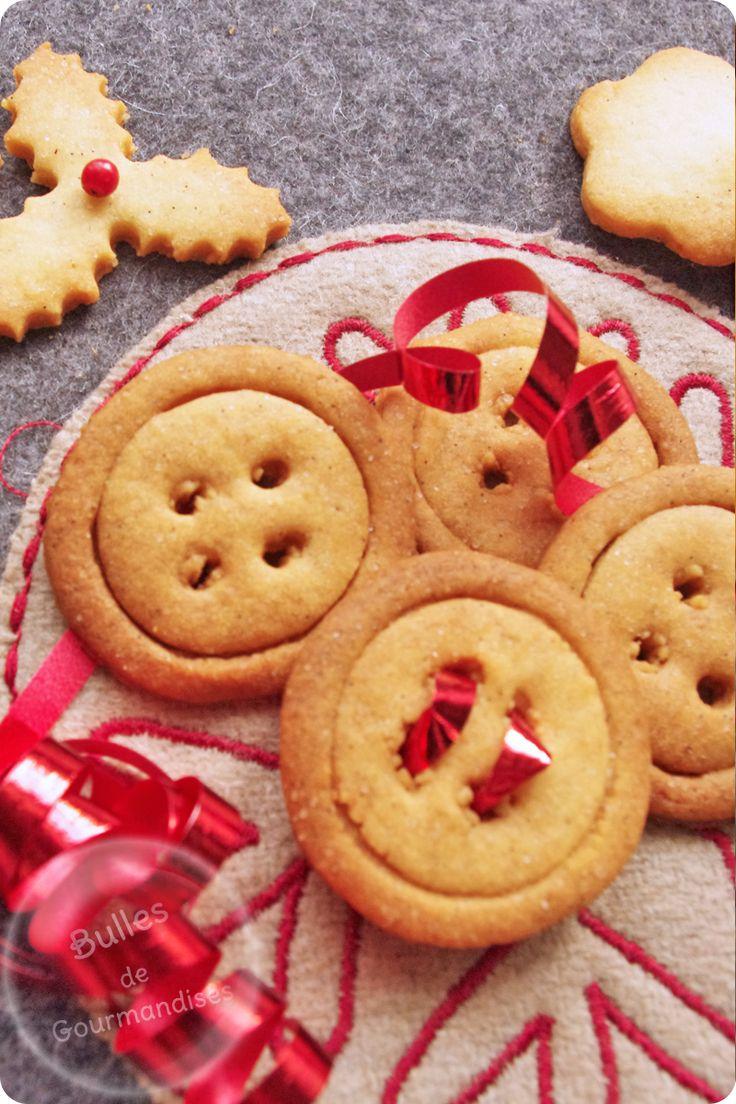 Christmas Cookies ! / Sablés de Noël à la vanille... croquez du bonheur !!!