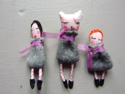 brooches by Abracadabra, France