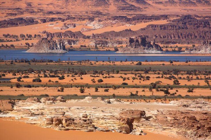 Teli-See - so nennen die Tubu-Nomaden das größte Gewässer der östlichen Seengruppe im Nordostbecken des Tschad. spiegel-online.de