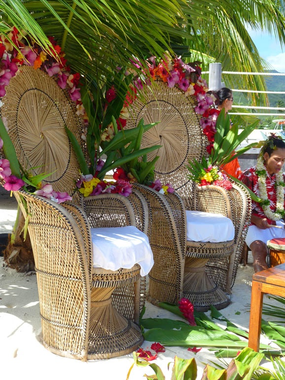 Tahitian Wedding in the Islands of Tahiti